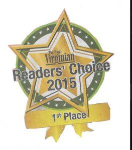 Reader's Choice 2015 Award